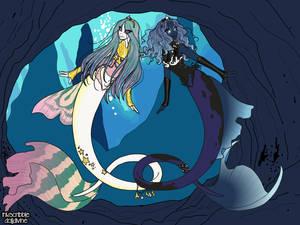 Mermaid Celestia and Luna