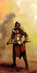The last Gladiator by FlyingNerve