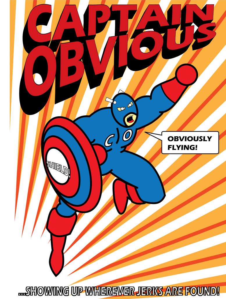 Captain Obvious by mega-jesus on DeviantArt