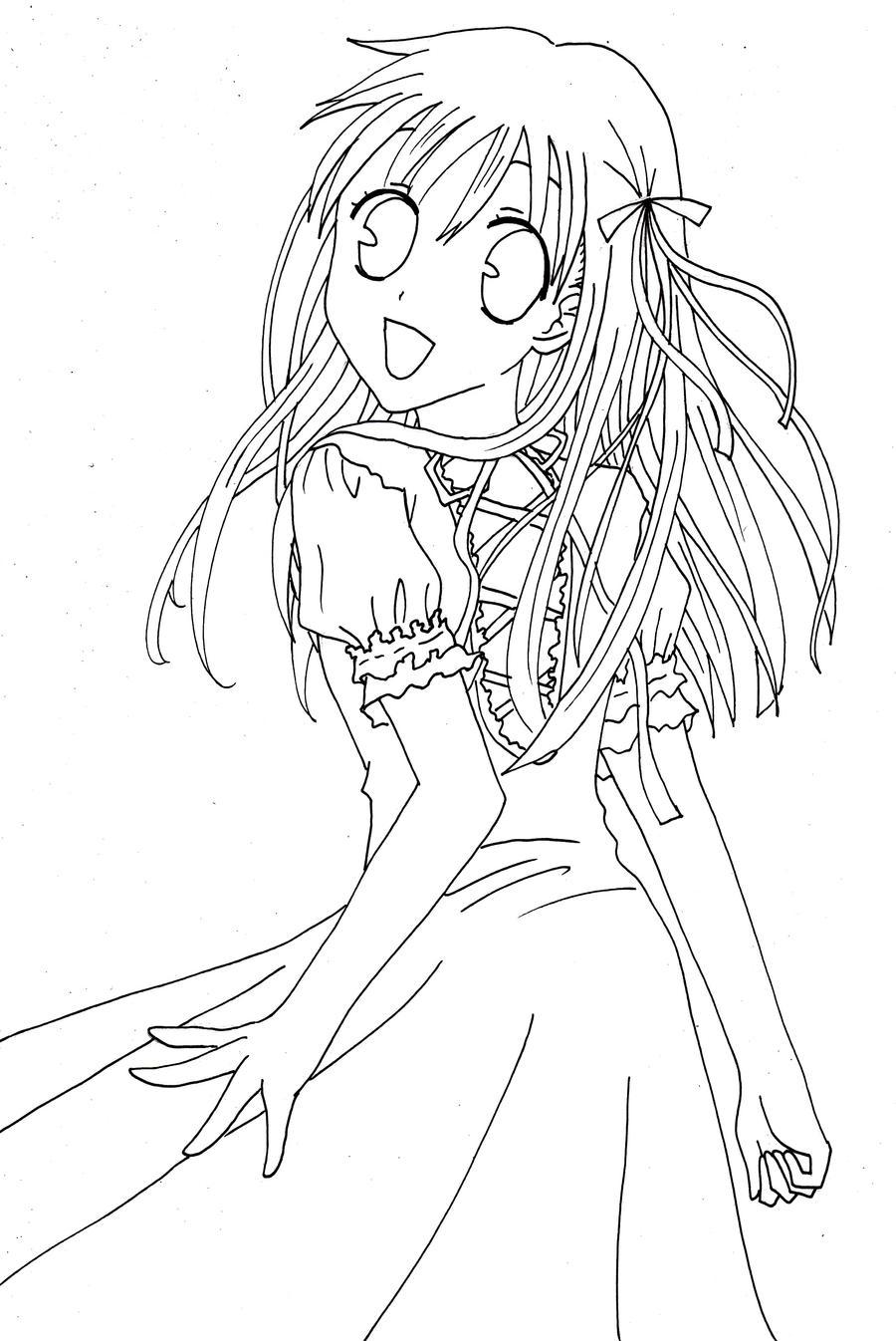 Fanart :: Tohru Lineart by strawberry-queen1