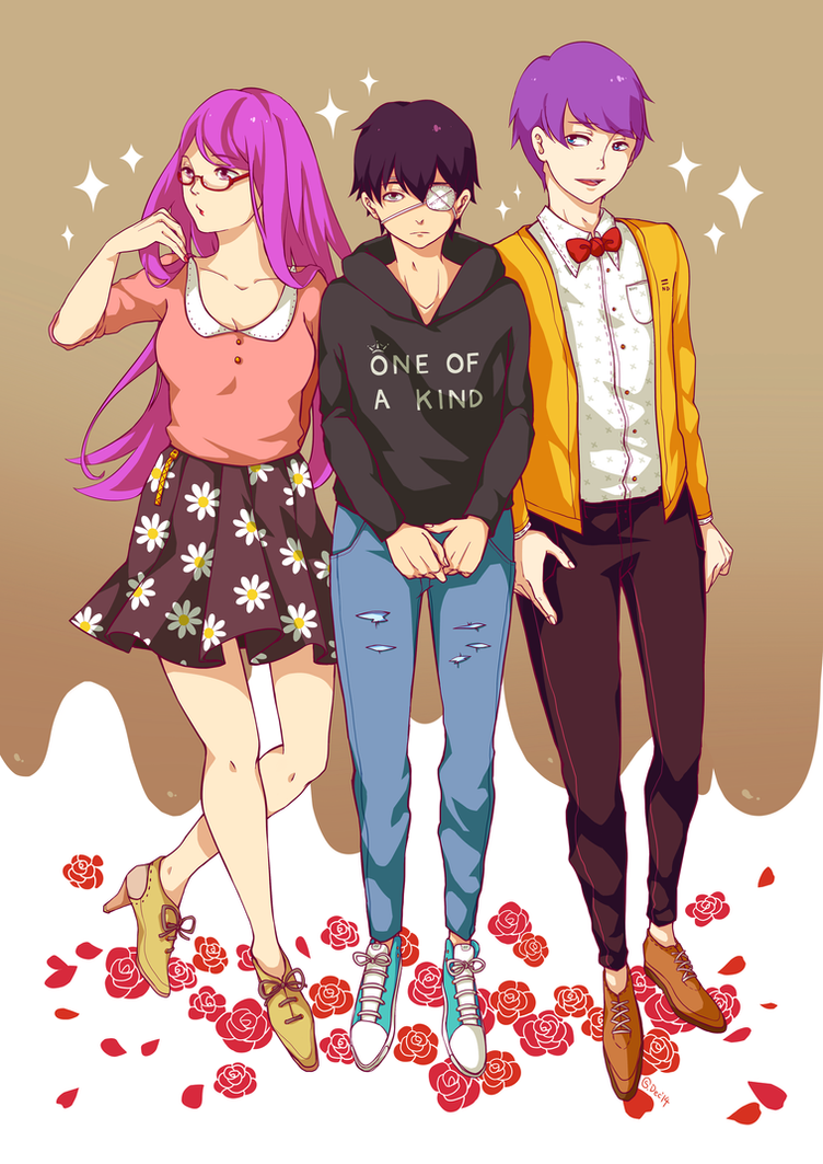 trio by strawberry-queen1