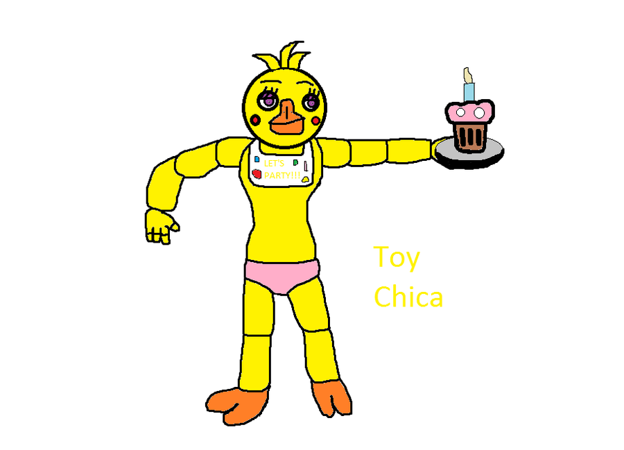 Toy chica fnaf 2 by olmedofox on deviantart