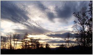 Sunset over Pleasantview