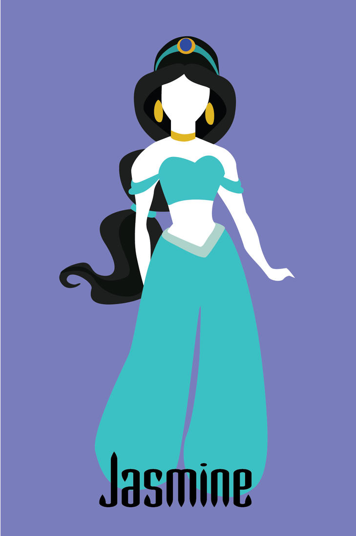 Disney Princesses 1 Jasmine by nati-nio