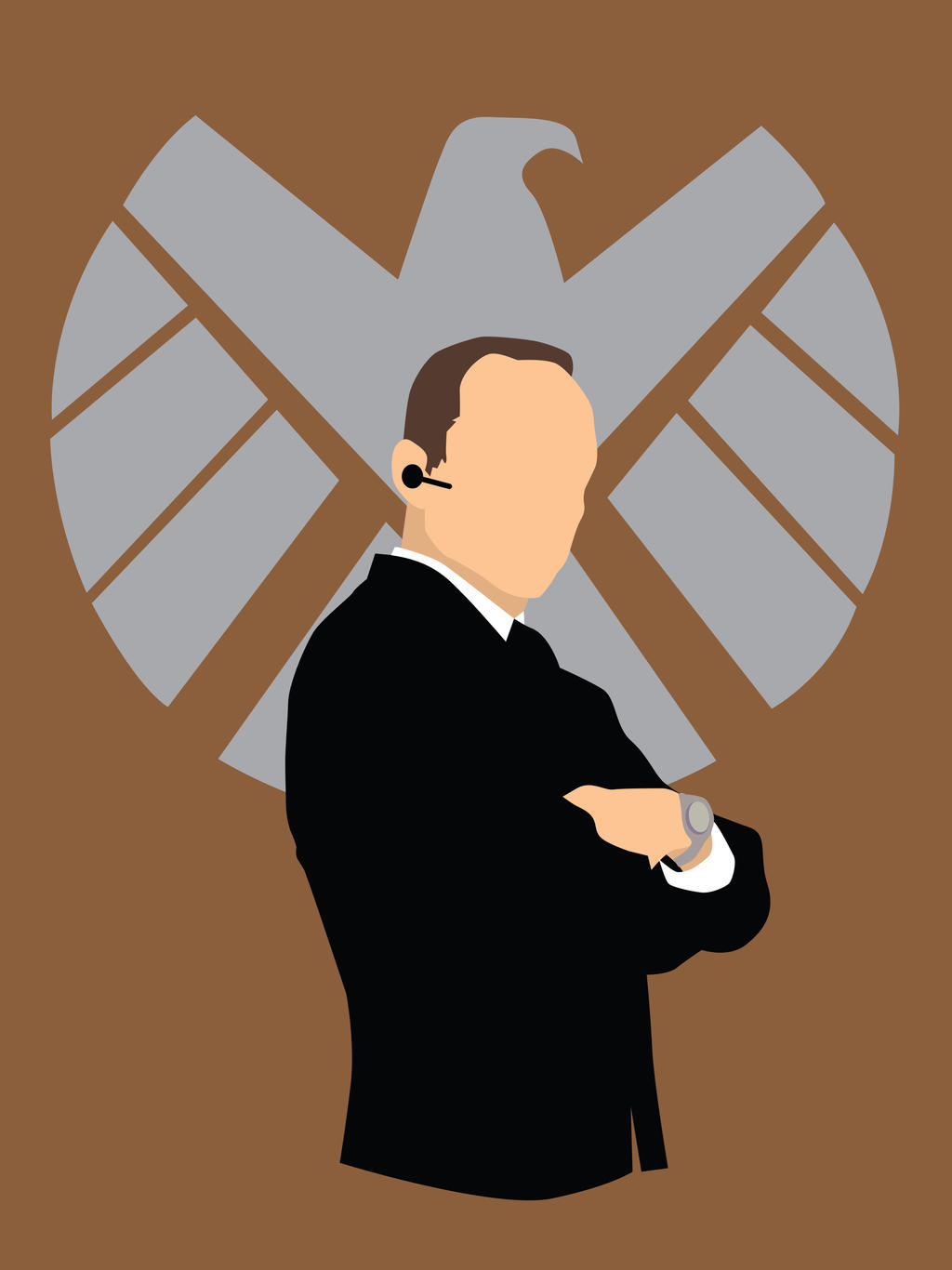 Agent Coulson of SHIELD