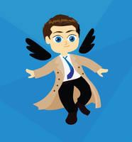 Angel Castiel by alicewieckowska