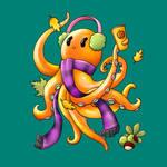 Autumn Octopus