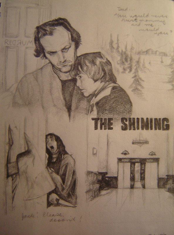 The Shining by dthehippie