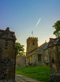 Church at Sunset 1