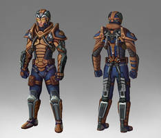 Super Soldier Concept by Saver-Blade