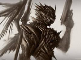 Dark Gunslinger by Saver-Blade