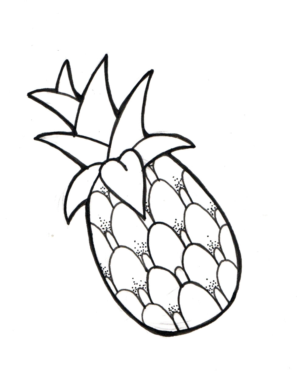 Pineapple By Makipony Designs Interfaces Tattoo Design 2014