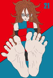 Android 21's 2nd Experiment