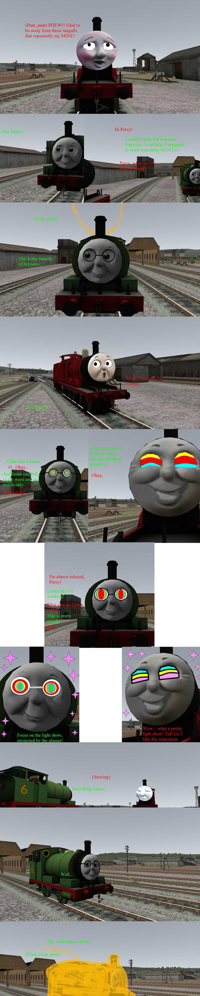 Percy's hypnosis on James. by Levelup331
