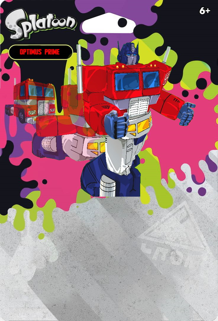 Splatoon 2 - Custom Optimus Amiibo Box by Levelup331 on