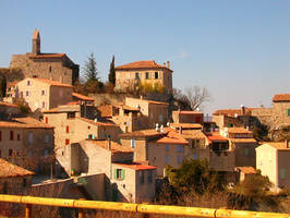 Villemus village of high provence by lubman