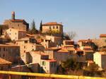 Villemus village of high provence