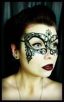 Venetian mask Painting by CrystalEffinOverland
