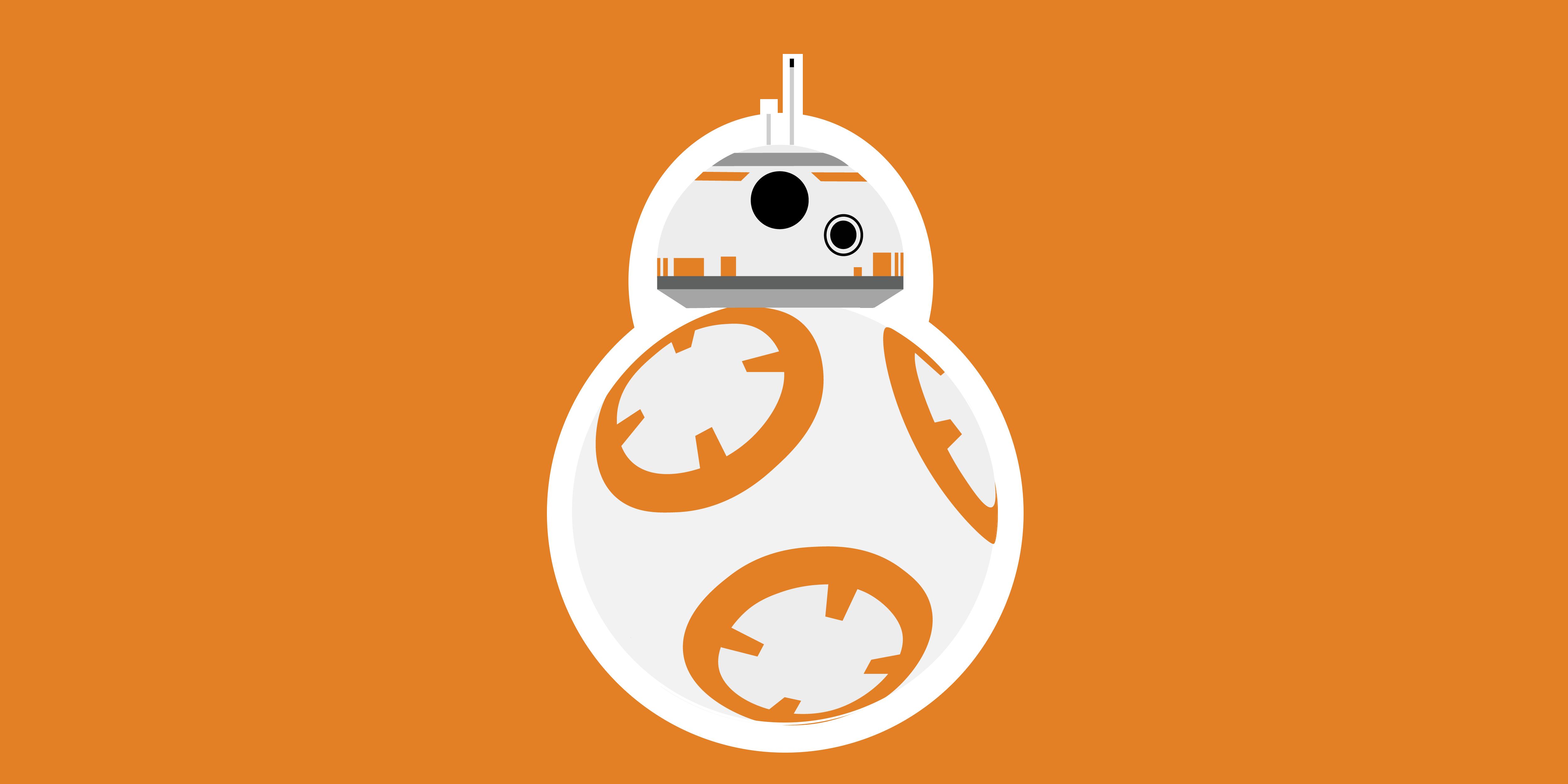 Star Wars BB-8 Wallpaper by BannanaPeel