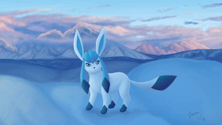 glaceon by the-Leander