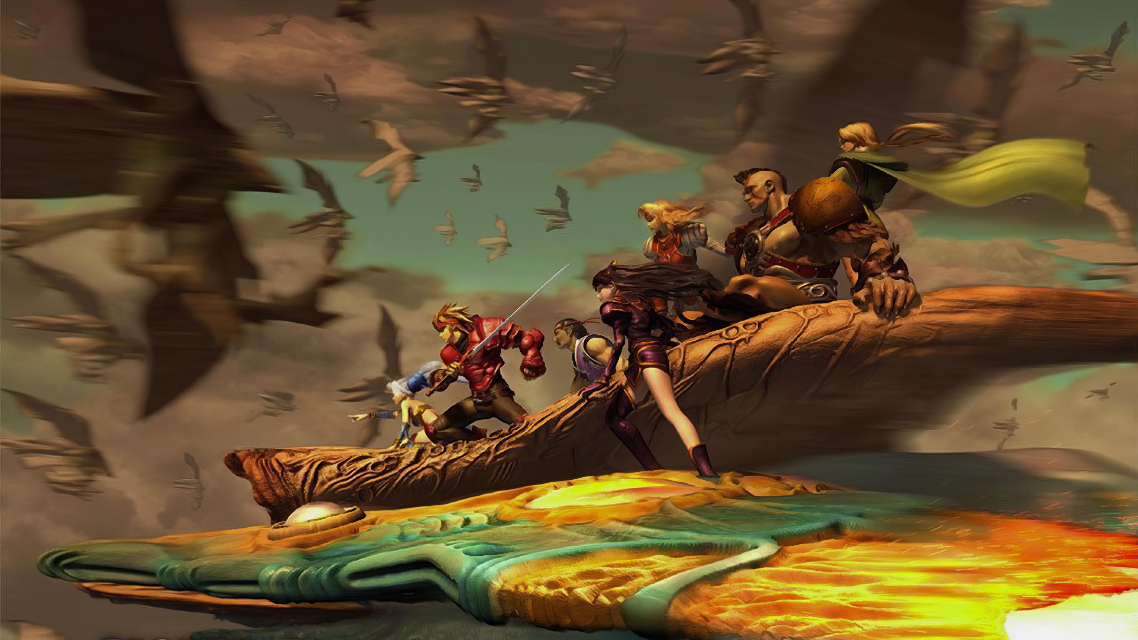 The Legend Of Dragoon Wallpaper By Hollowbattousai On Deviantart