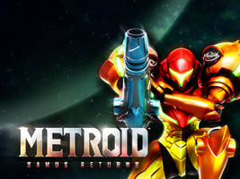 Metroid: Samus Returns Wallpaper 2 by Nintato