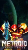Metroid: Samus Returns Phone Wallpaper by Nintato