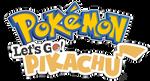 [Logo] Pokemon: Let's Go Pikachu by Nintato