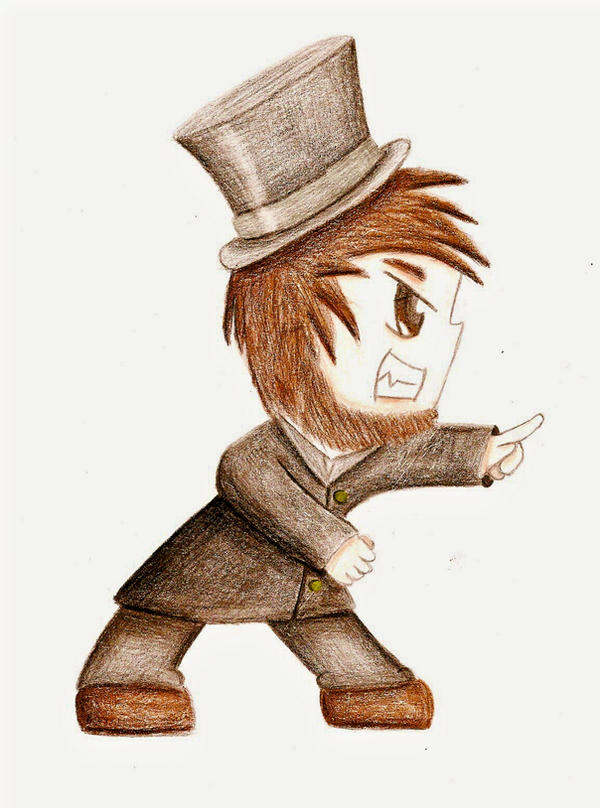 Chibi Abraham Lincoln by Solexi