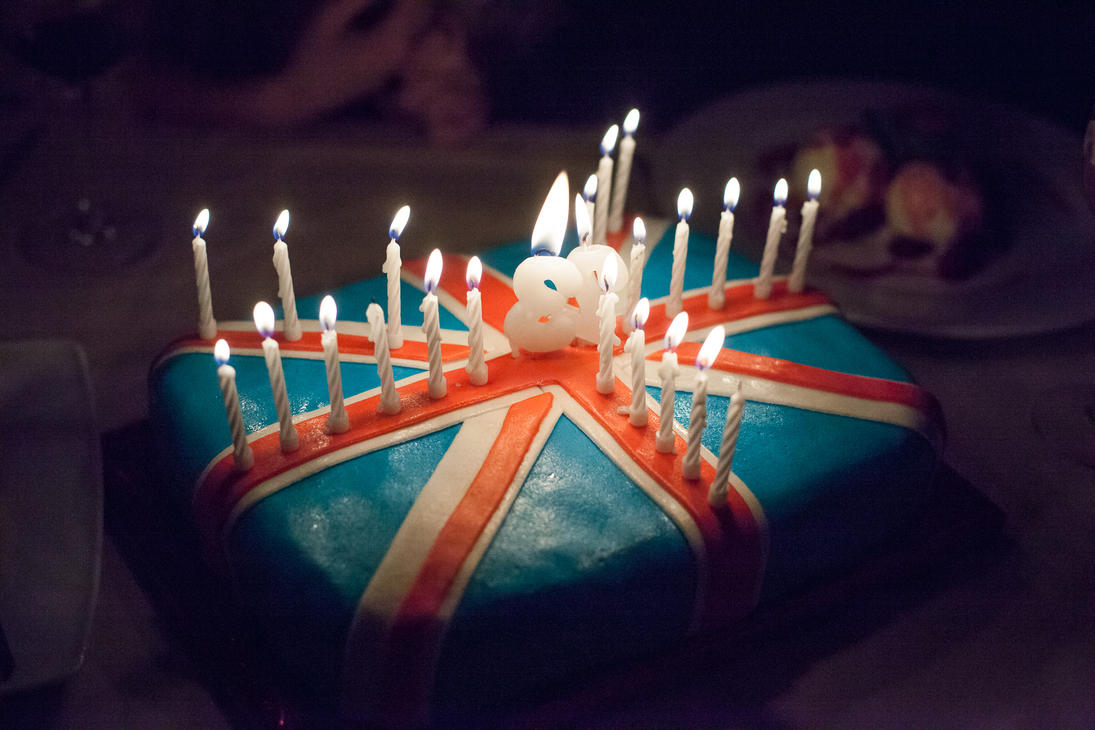 British Birthday Cake By Kakyc On Deviantart