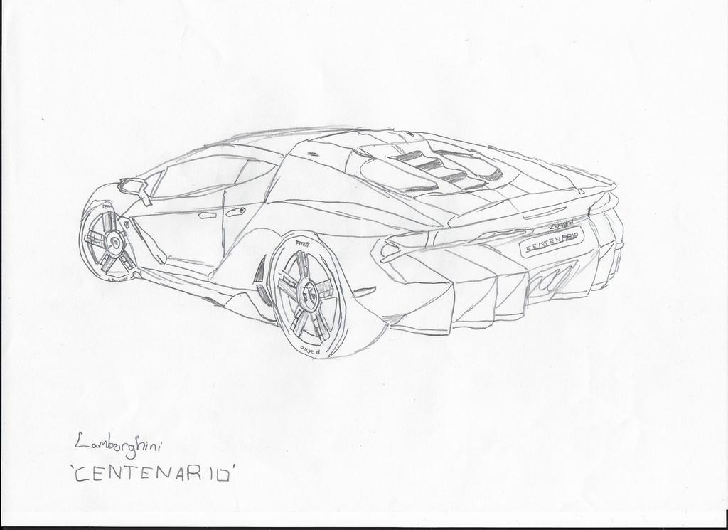 Lamborghini Centenario By Ajbdoesart On Deviantart