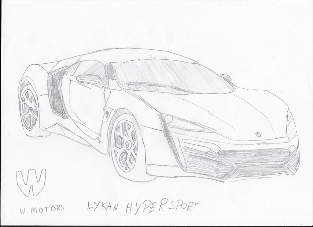 Hyper Sport 2017 >> W Motors Lykan Hypersport by AJBDoesArt on DeviantArt