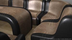 Leather Sofa Set III by SLB81