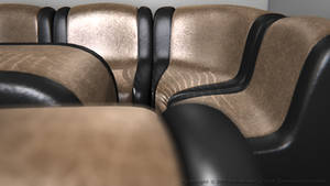Leather Sofa Set IV by SLB81