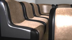 Leather Sofa Set V by SLB81