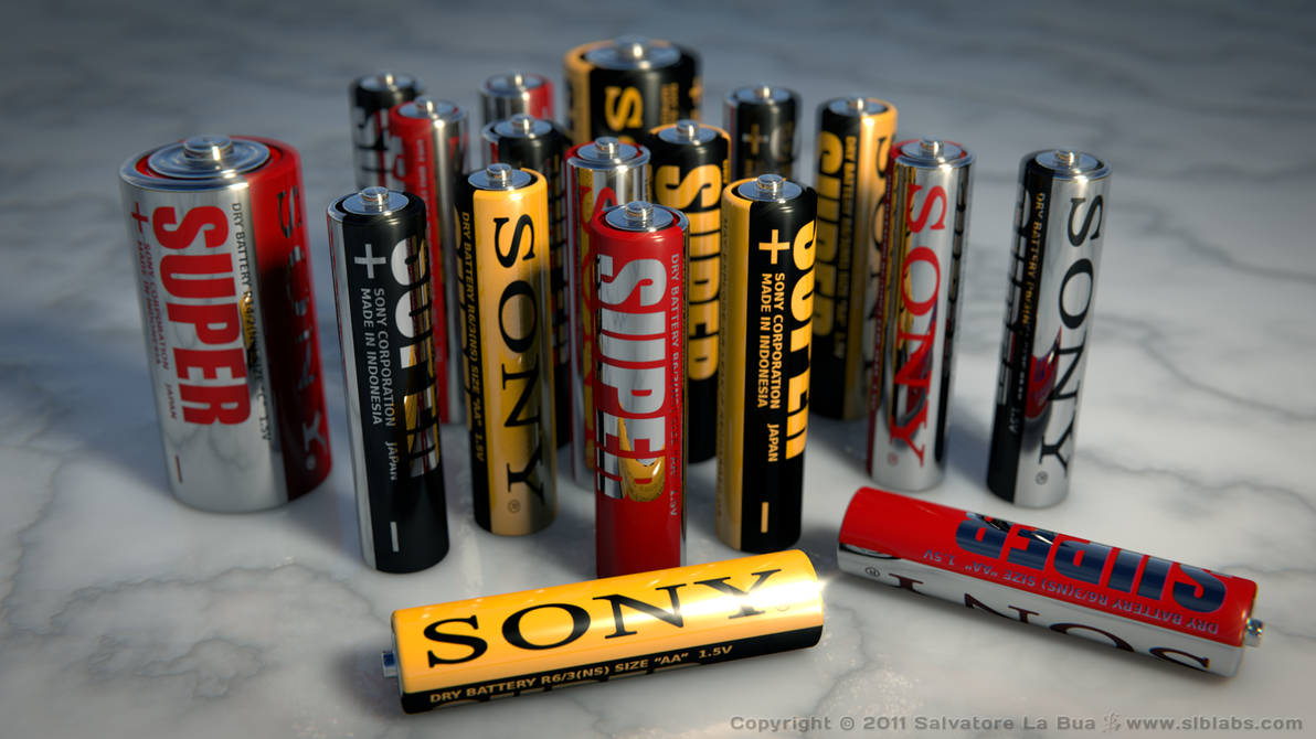 Sony Batteries by SLB81