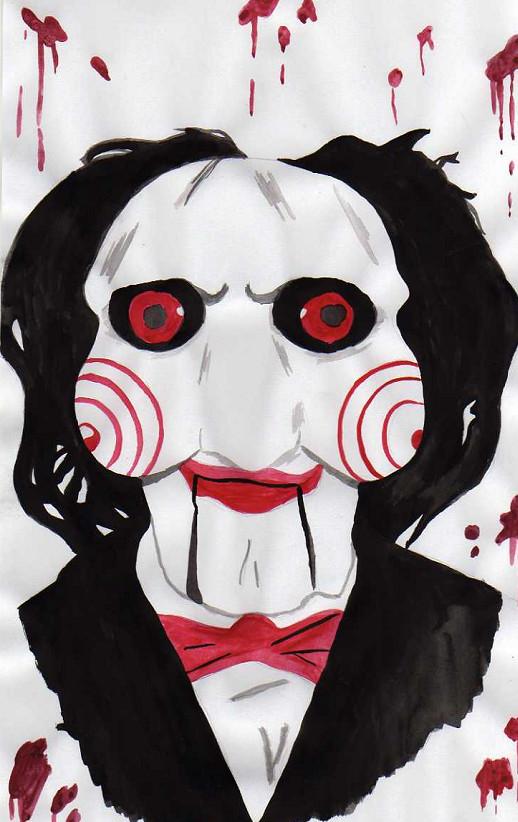 Jigsaw Puppet by grimsdyke on DeviantArt