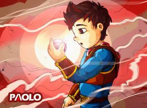 Primer Paolo Con Gema En Mano El Original