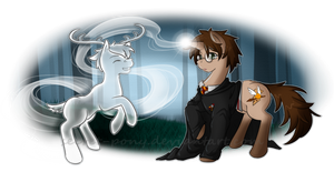 My Little Harry - Harry Trotter by secret-pony