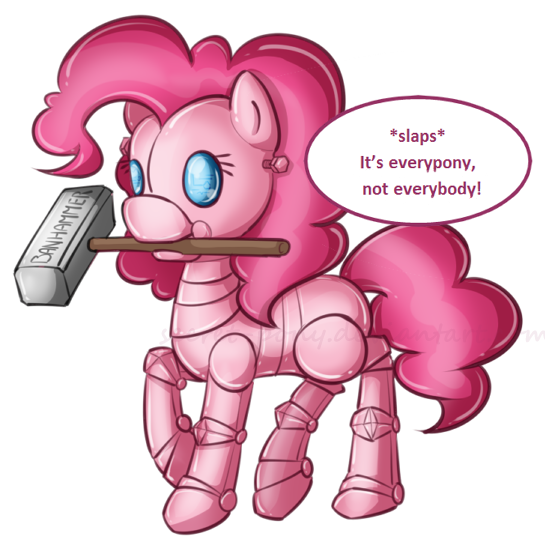 Pinkiebot by secret-pony