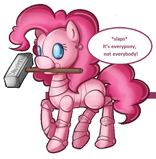 Pinkiebot by secret-pony