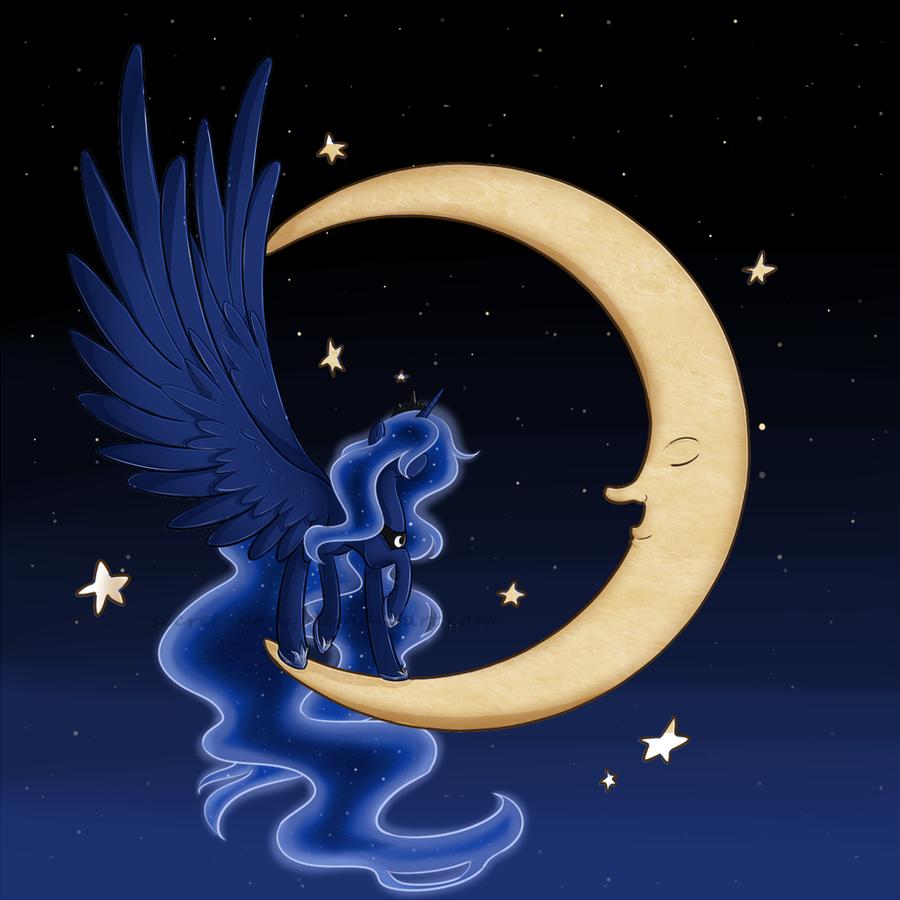 Princess Luna by secret-pony