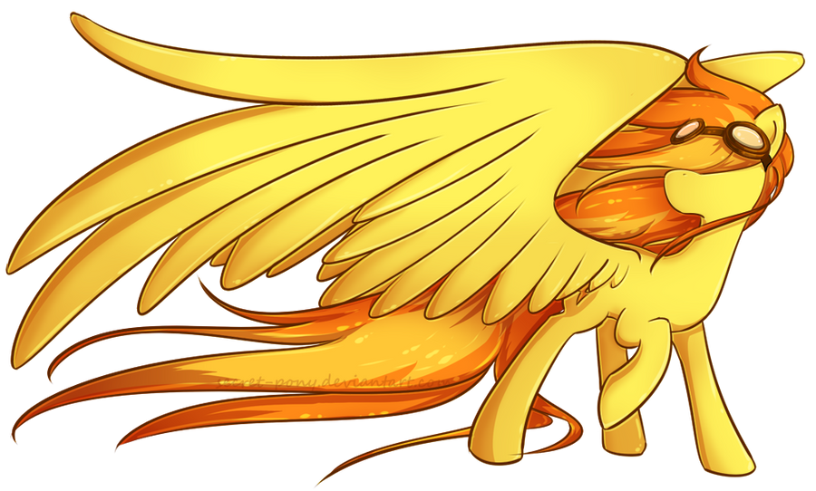 Spitfire by secret-pony