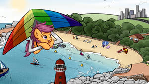 Scootaloo's summer holiday