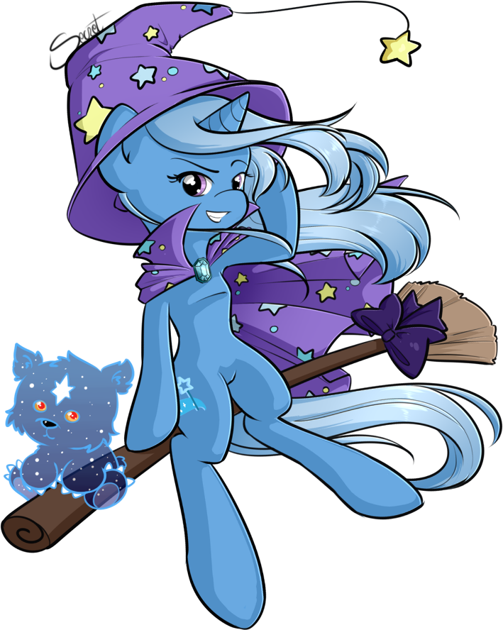 Trixie Witch by secret-pony