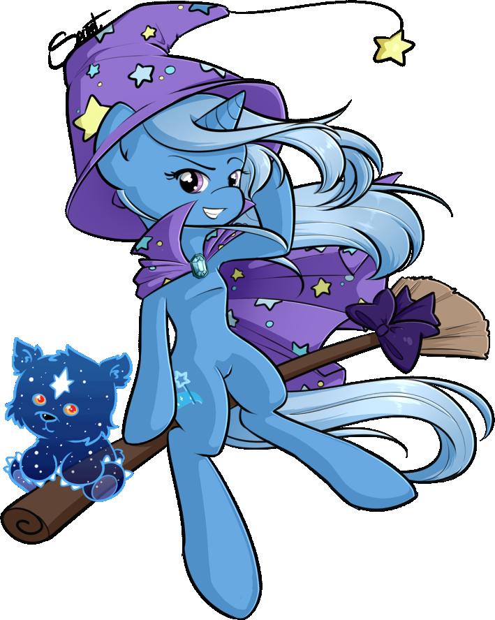Trixie Witch by secret-pony