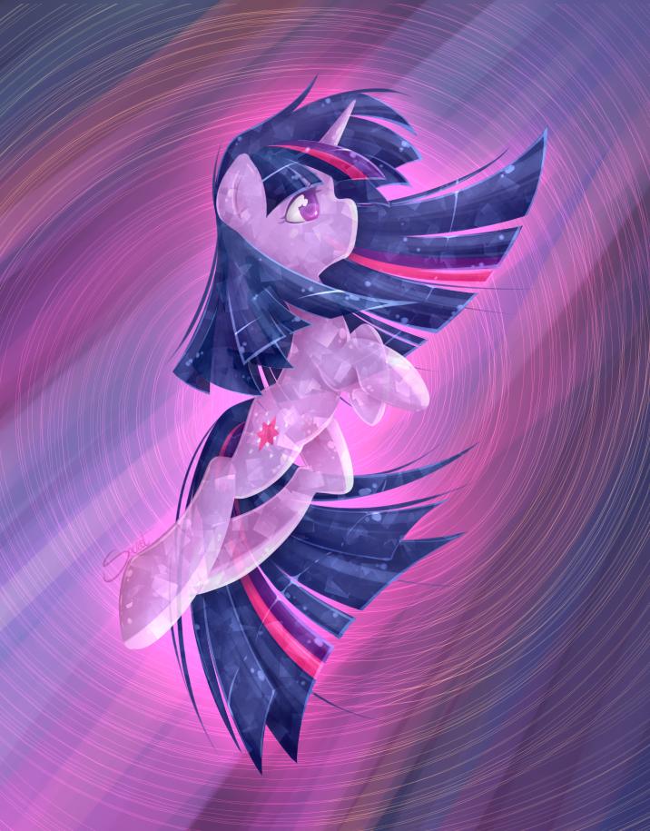 Crystal Twilight by secret-pony