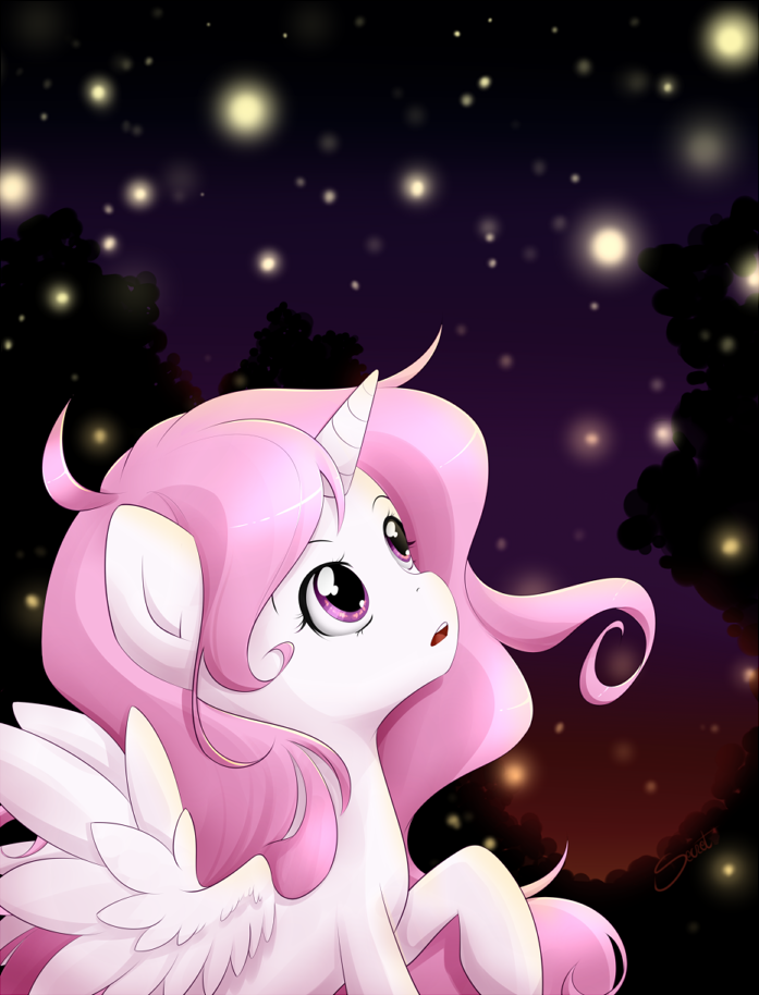 Filly Celestia by secret-pony