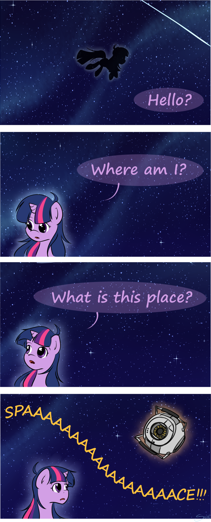 [episode spoiler] What is this place? by secret-pony