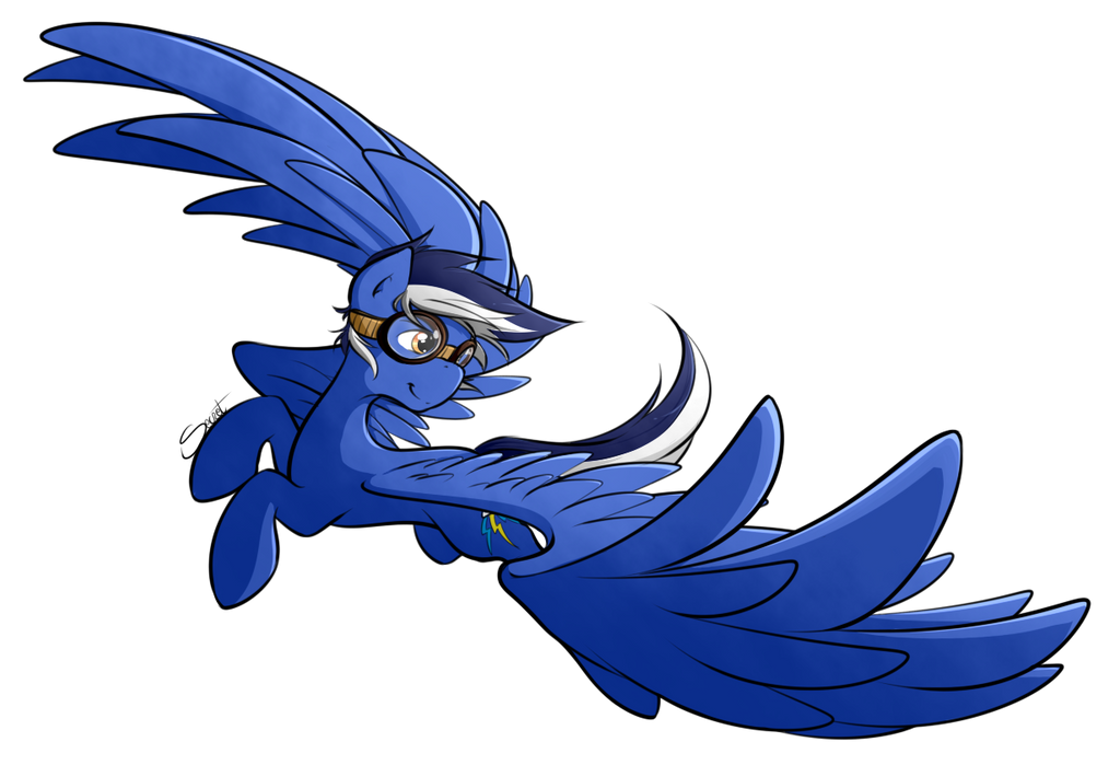 Blue Blaze by secret-pony